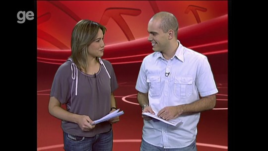 "Substituto de Felipe Andreoli no Esporte Espetacular, Lucas Gutierrez comemora: ""Maravilhoso"""
