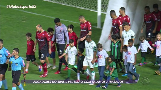 Brasil-Pel confirma atraso no pagamento de salários e vai tentar antecipar verbas com a CBF