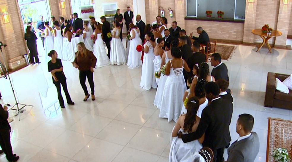 Inscrições para casamento comunitário estão abertas — Foto: Wilson Aiello/ EPTV
