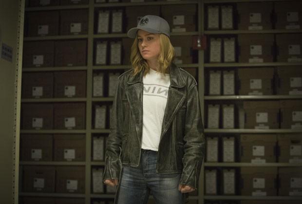 Brie Larson é Carol Denvers, a Capitã Marvel (Foto: Chuck Zlotnick/Marvel Studios 2019/Divulgação Disney)