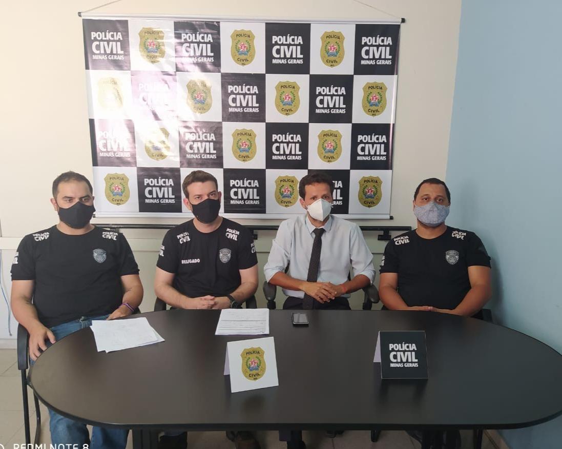 Homem é preso suspeito abusar da filha de 6 anos durante uma transmissão pela internet na região de Pará de Minas