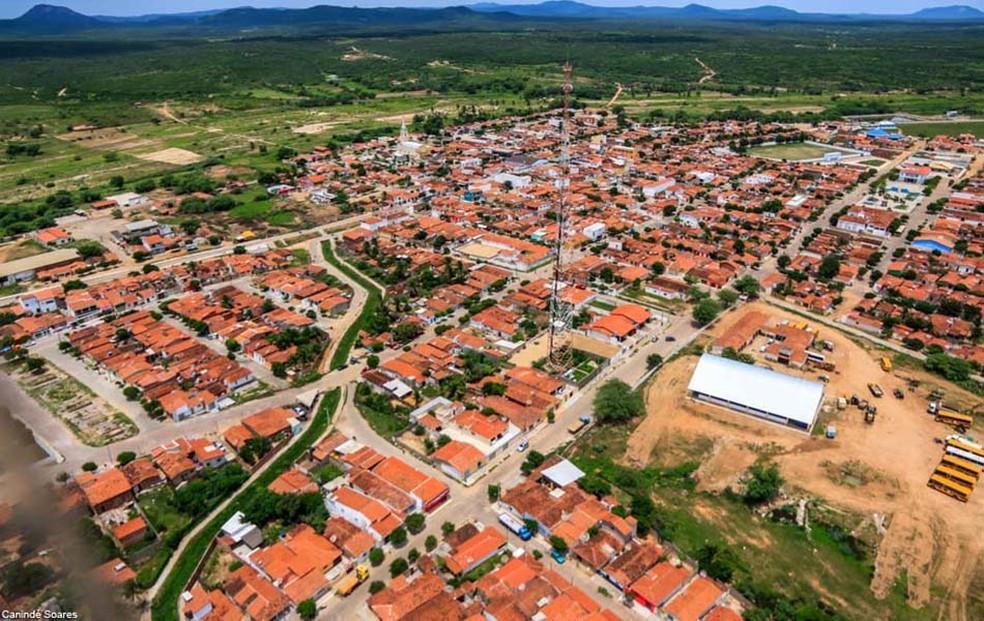 Município de São Tomé, RN, tem pouco mais de 11 mil habitantes (Foto: Canindé Soares)