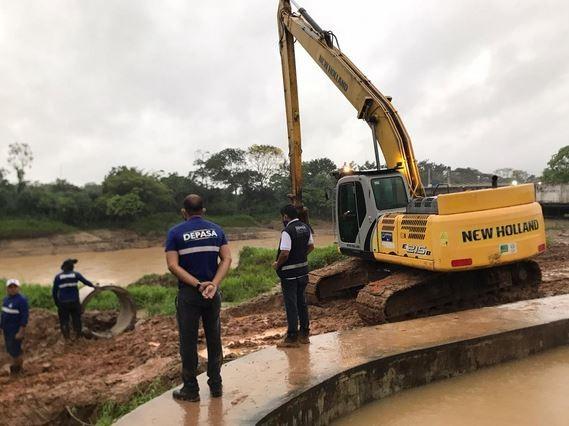 Curto-circuito em cabos de estação de tratamento afeta abastecimento de água em Rio Branco
