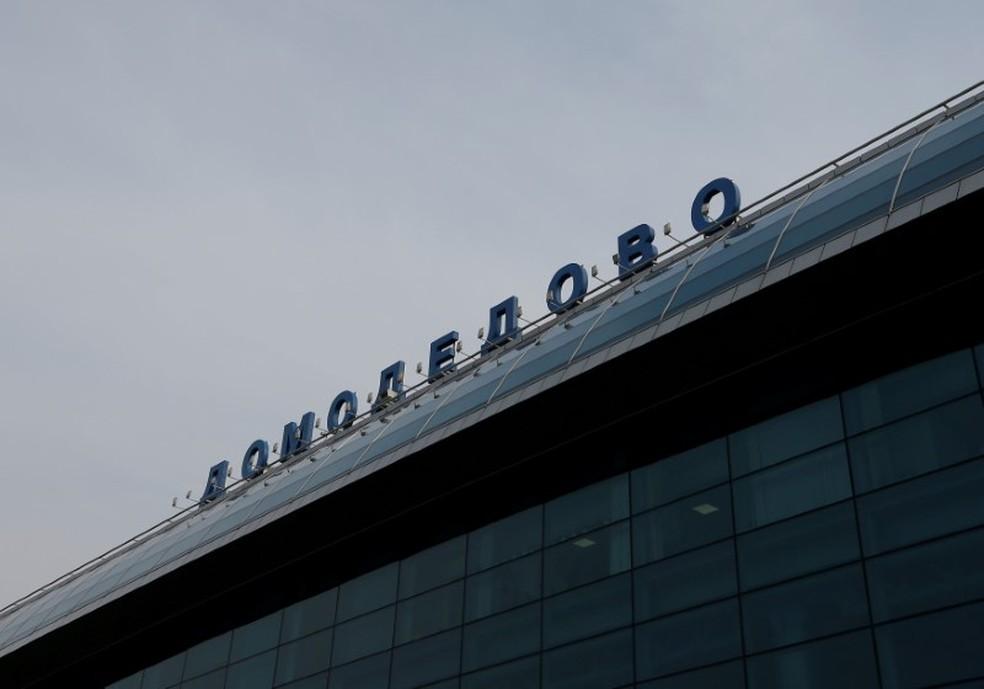 Aeroporto de Domodedovo, em Moscou, na Rússia — Foto: Maxim Shemetov/Reuters