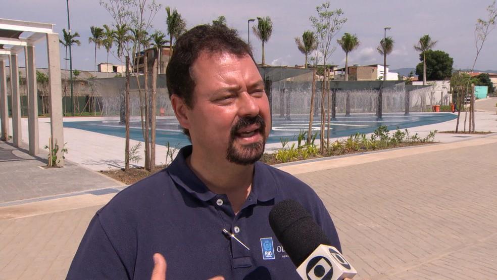 Ex-secretário de Obras da Prefeitura do Rio, Alexandre Pinto (Foto: Reprodução / TV Globo / Arquivo)