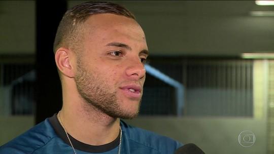 Após dedicar gol a Wagnão, Guilherme, do Botafogo, se emociona com mensagem do amigo
