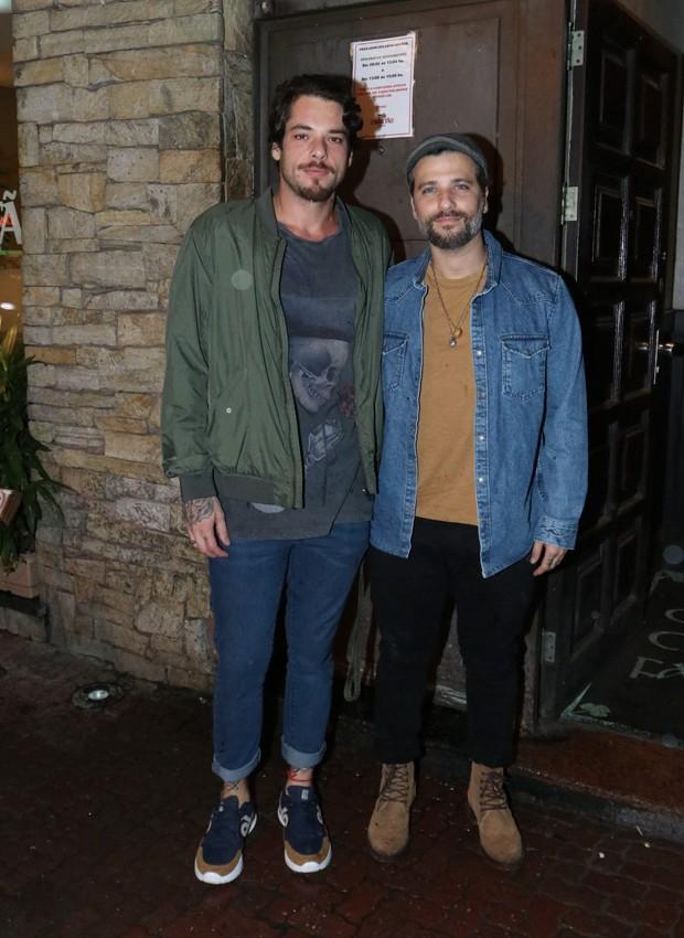 Gian Luca Ewbank e Bruno Gagliasso (Foto: Thyago Andrade/BrazilNews)