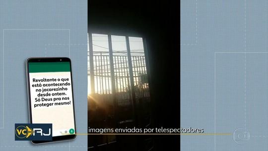 Moradores relatam intenso tiroteio pelo segundo dia seguido no Jacarezinho