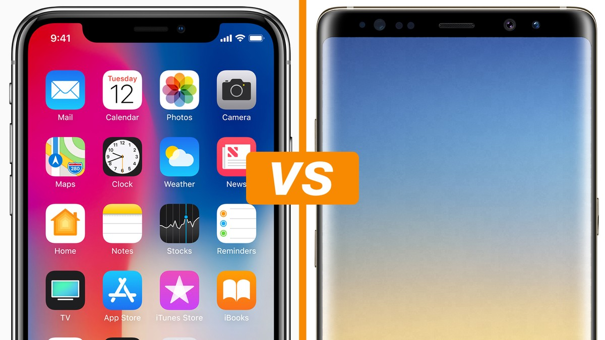 90ba9c4df iPhone X vs Galaxy Note 8  comparativo detalha ficha técnica dos celulares