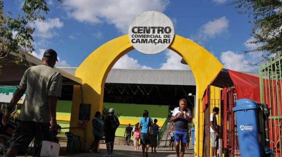 Centro Comercial de Camaçari, na região metropolitana de Salvador — Foto: Divulgação