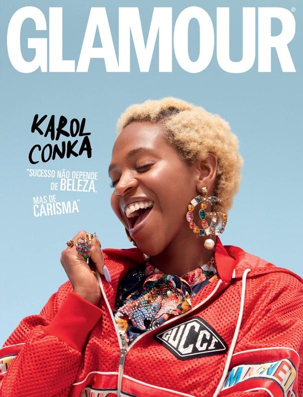 Karol Conká na Glamour de março (Foto: Cassia Tabatini)