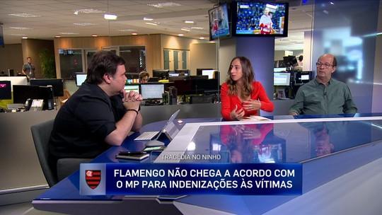 """Uchôa recomenda indenizações do Flamengo fora da Justiça: """"É melhor gastar um pouco mais"""""""