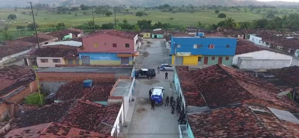 Operação policial em Bonito — Foto: Polícia Civil/Divulgação