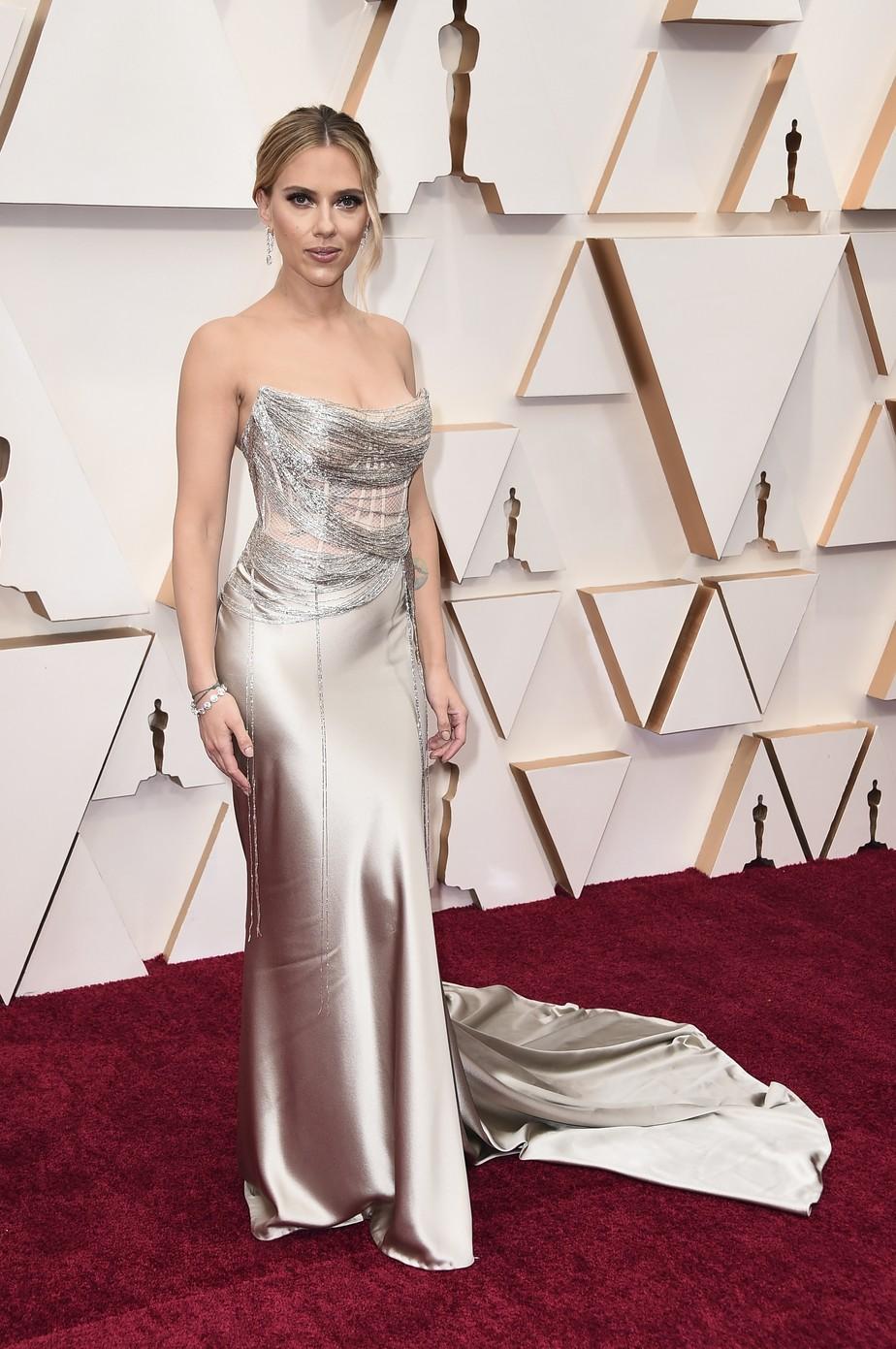 Resultado de imagem para oscar 2020 Scarlett Johansson