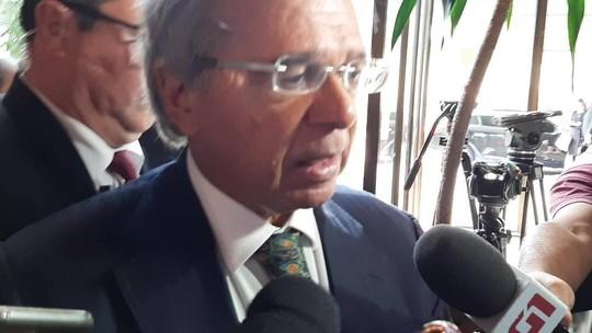 Brasil está 'a caminho do upgrade', diz Guedes sobre nota de crédito
