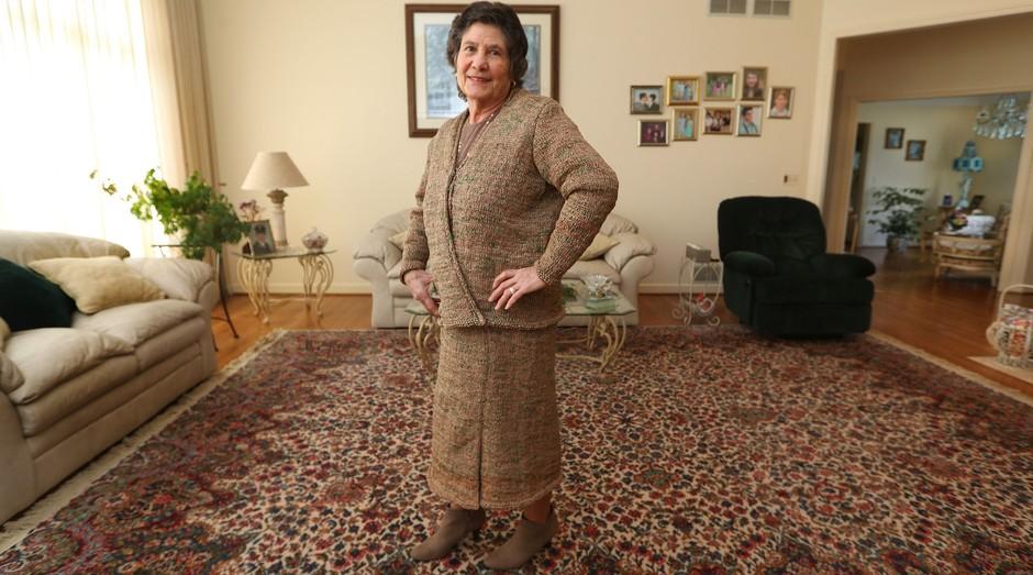 Rosa Ferrigno: paixão pela costura e pelo tricô a ajudaram a criar roupas (Foto: Divulgação)