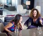 Ingrid Guimarães com Claudia Raia em 'Viver do riso' | Divulgação