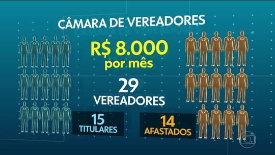 Afastados por suspeita de corrupção, vereadores ganham salário na Paraíba