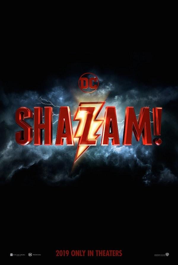 O primeiro cartaz do filme Shazam! (Foto: Divulgação)