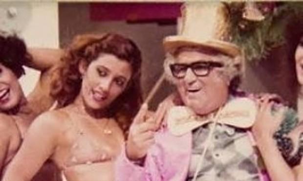 Rita Cadillac e Chacrinha (Foto: Reprodução/Instagram)