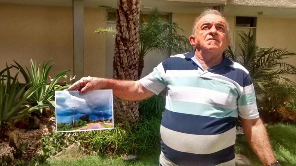 Chuva deve ocorrer até o mês de agosto, segundo o profeta Josué (Foto: Valdir Almeida/G1 CE)