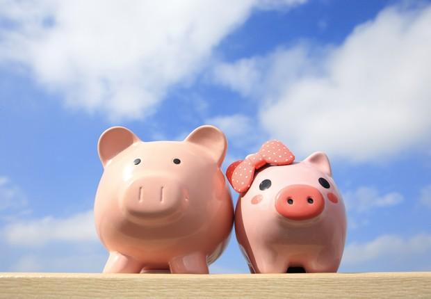 Guardar dinheiro ; poupança ; aplicar dinheiro ; investimento ;  (Foto: Thinkstock)