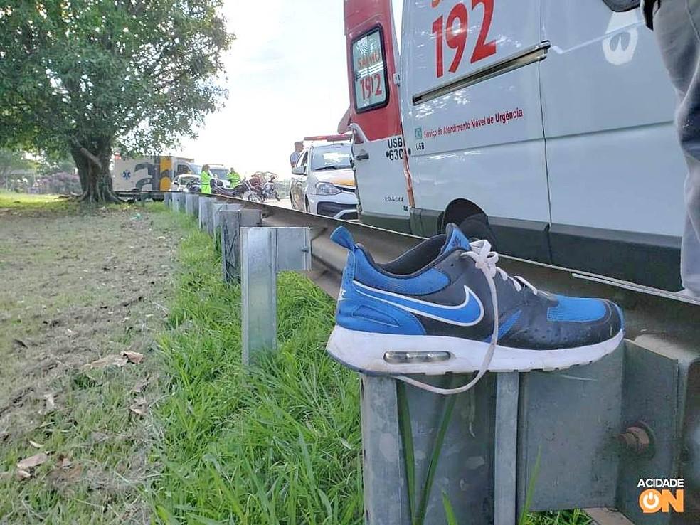 Jovem sofreu escoriações leves pelo corpo — Foto: A Cidade ON/SãoCarlos
