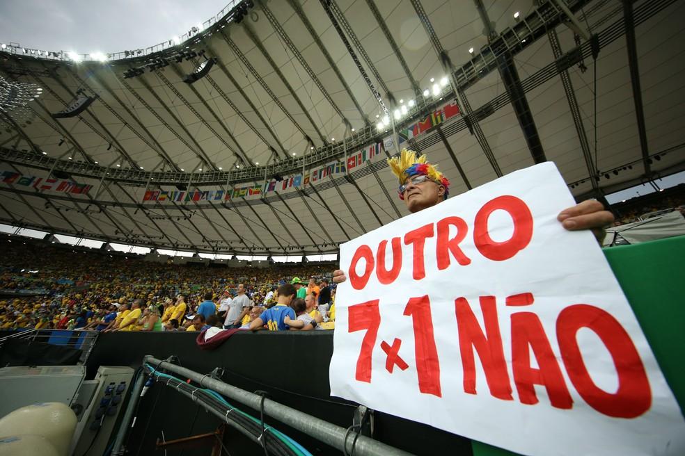 Brasileiros pedem apenas uma coisa para a Seleção (Foto: Ag Estado)