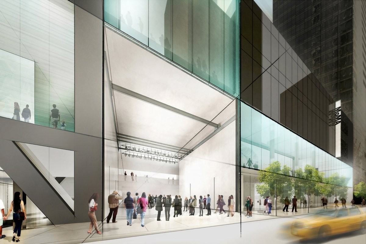 Nova Fachada do MoMa (Foto: Getty Images)