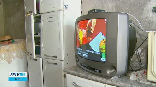 Desligamento do sinal analógico da EPTV Central começa nesta quarta e vai até 12 de dezembro
