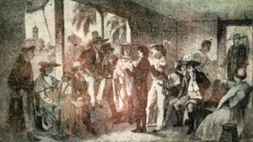 Feriado instituído em 2017 celebra Revolução Pernambucana de 1817 (Foto: Reprodução/TV Globo)