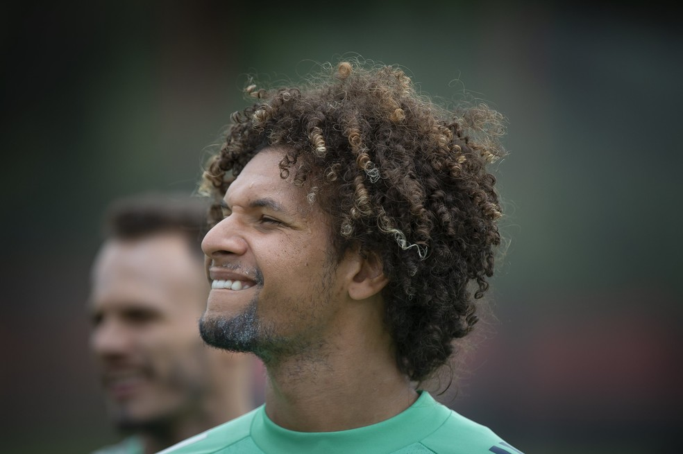 William Arão está relacionado para enfrentar o Inter — Foto: Alexandre Vidal/Flamengo