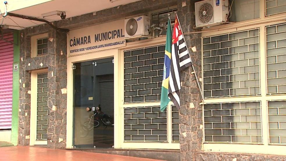 Câmara de Sertãozinho, SP (Foto: Reprodução/EPTV)