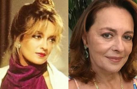 Maria Zilda Bethlem viveu Laura, mulher do milionário Aristides Vilhena (Walmor Chagas). Longe das novelas desde 'Êta mundo bom!', de 2016, ela gravou as séries 'Chuteira preta' (Prime Box Brazil) e 'Pico da neblina' (HBO) TV Globo / Reprodução