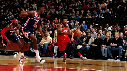 Mesmo sem Kawhi, Toronto vence Wizards e segue invicto na ponta do Leste