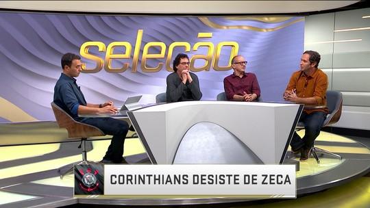 Corinthians desiste da contratação de Zeca