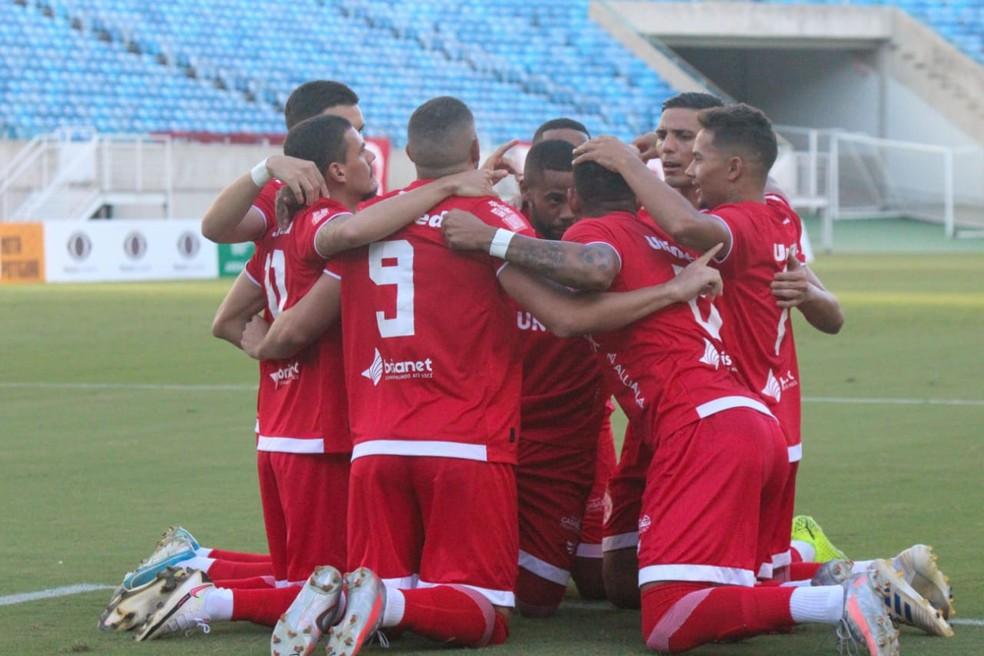 América-RN vence na Arena das Dunas — Foto: Canindé Pereira/América FC