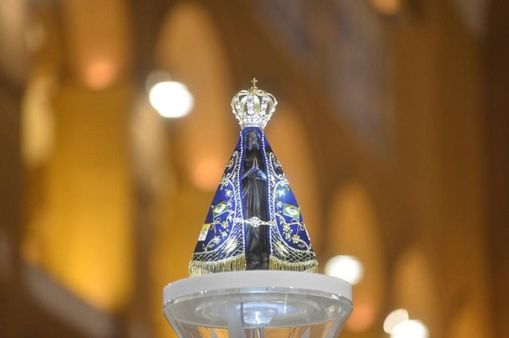 Católicos celebram 300 anos de fé em Nossa Senhora Aparecida (Foto: Thiago Leon/Santuário Nacional)