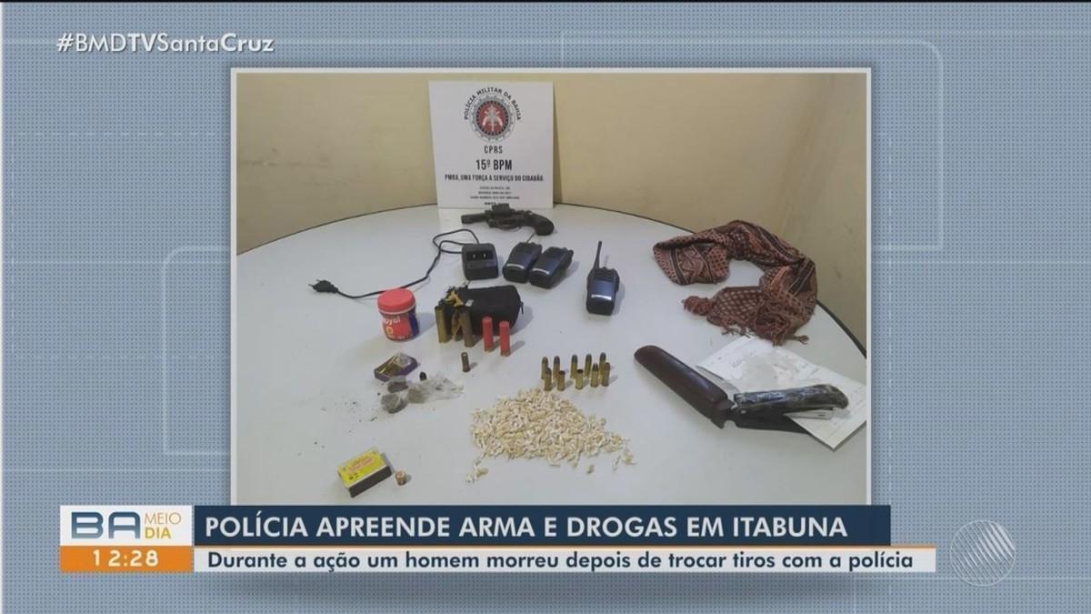 Homem morre após confronto com policiais em Itabuna, no sul da Bahia