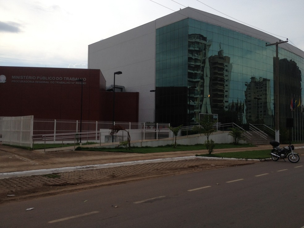 Ministério Público do Trabalho MPT RO — Foto: Mary Porfiro/G1