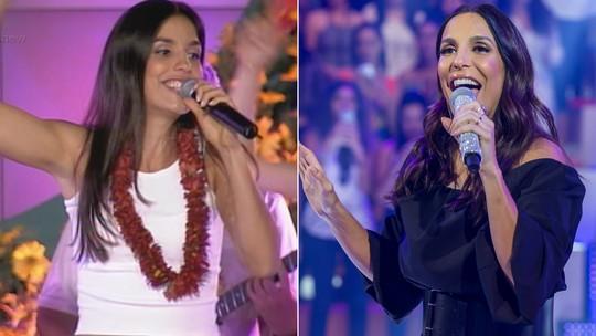 'Caldeirão': relembre a primeira participação de Ivete Sangalo no programa