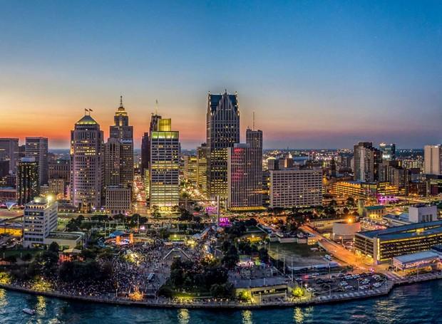 Detroit (Foto: Reprodução/ Pure Michigan)