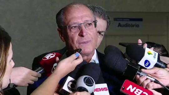 Alckmin presta depoimento em investigação sobre formação de cartel