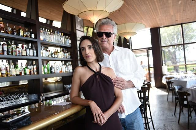 Maria Prata e Pedro Bial em São Paulo (Foto: Divulgação)