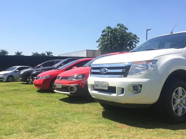 Empresário tinha carros, imóveis de luxo e lavava dinheiro com empresa, diz polícia (Foto: Murillo Velasco/G1)