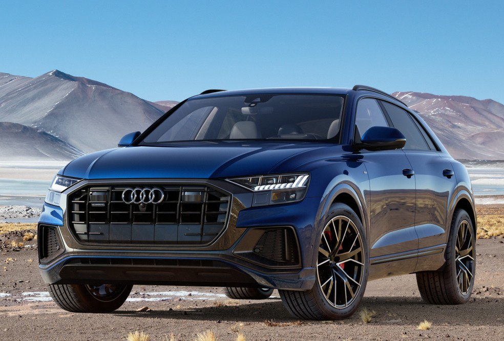 Audi Q8 — Foto: Divulgação/Audi