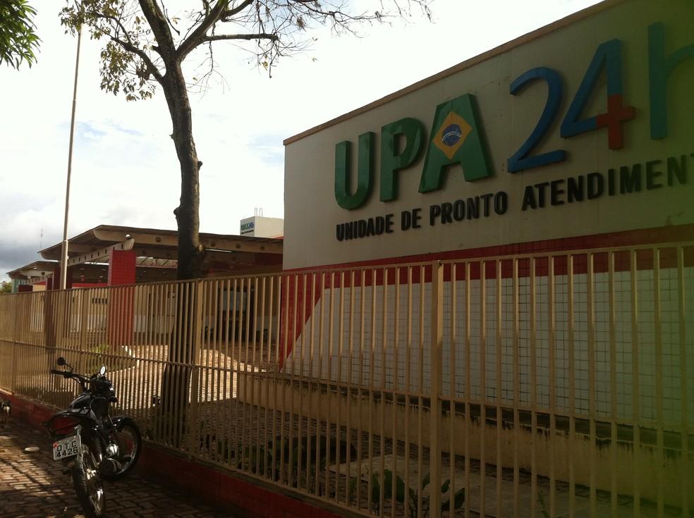Fachada da UPA em Santarém, no oeste do Pará — Foto: G1/Arquivo