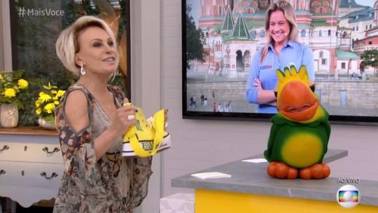 Fernanda Gentil faz Ana Maria cair na gargalhada no 'Mais Você'