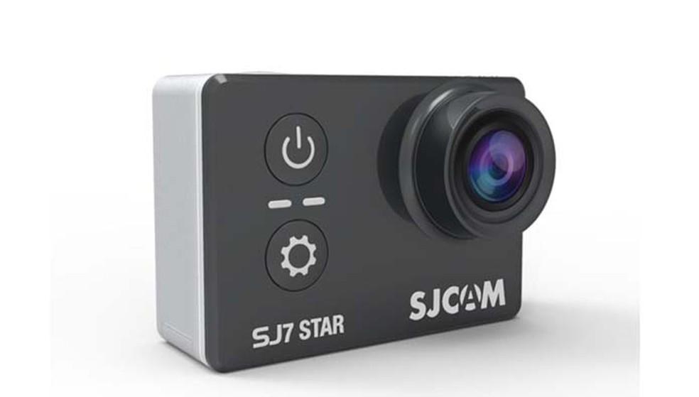 A SJCAM SJ7 Star é a mais barata, mas também a que oferece recursos mais modestos (Foto: Divulgação/SJCAM)