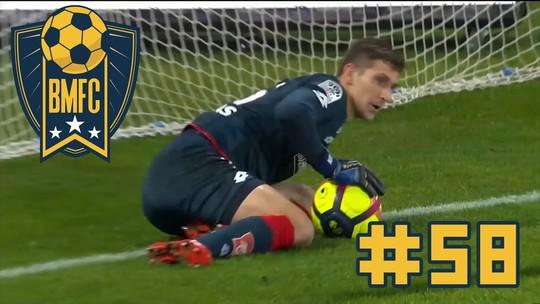 BMFC 58: Gols contra bizarros, gato Buffon e pintura de Guiñazu